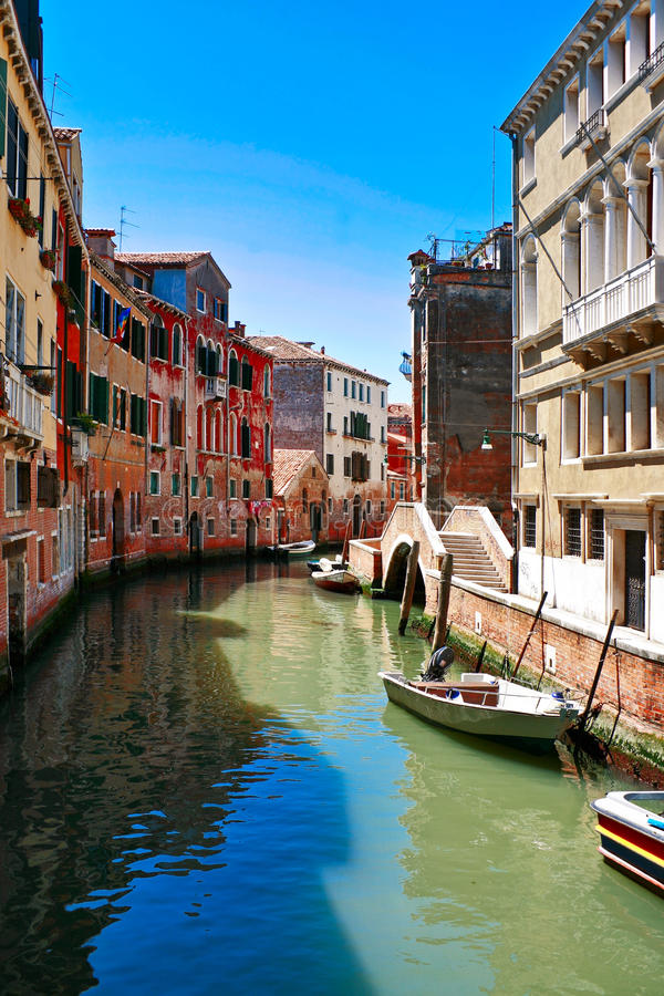 The Architecture Of The Old Venice Stock Images