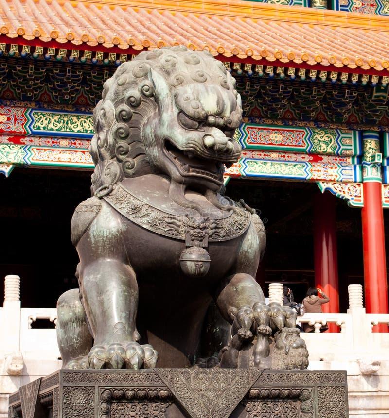 architecture Pékin historique image stock