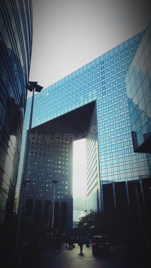 Architecture paris france nanterre royalty free stock photography