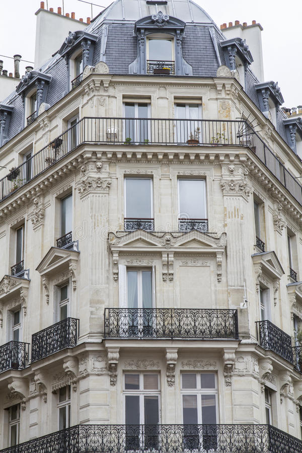 architecture parisienne type photo stock image du vieux On architecture parisienne