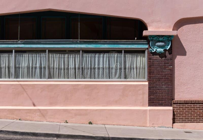 Architecture peu commune, Bisbee, Arizona photo stock