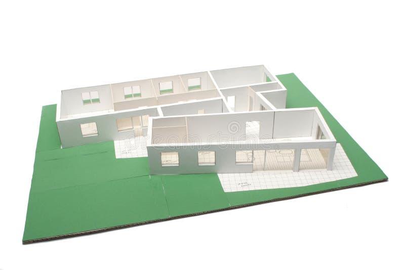 Architecture plan stock image