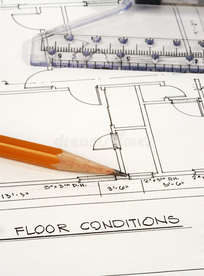 Download Architecture Plans stock image. Image of precise, drawings - 1776589