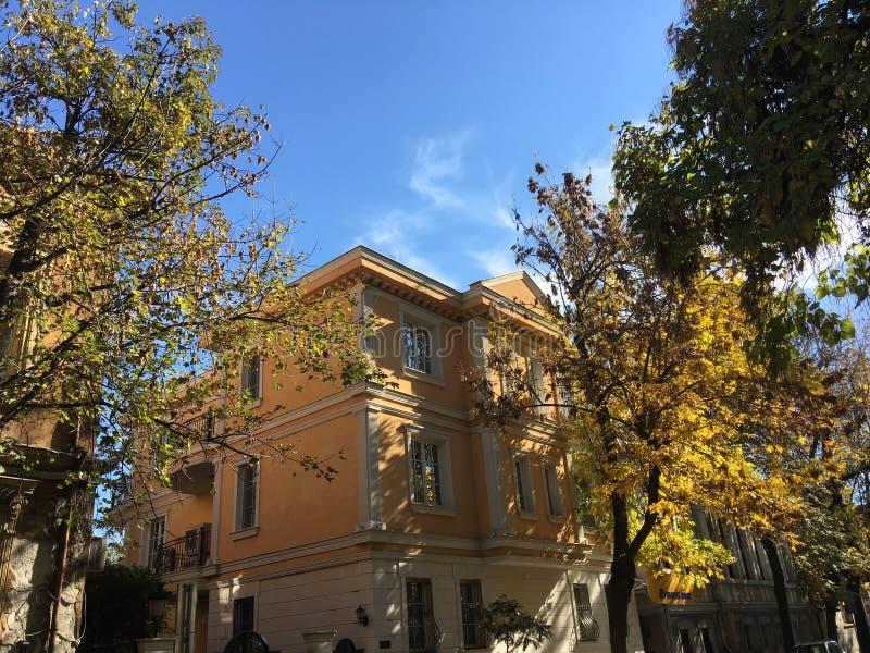 Architecture in Plovdiv. Bulgaria stock photo