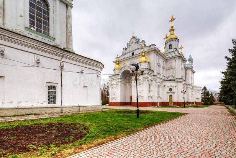 Architecture of Poltava. Ukraine. royalty free stock image