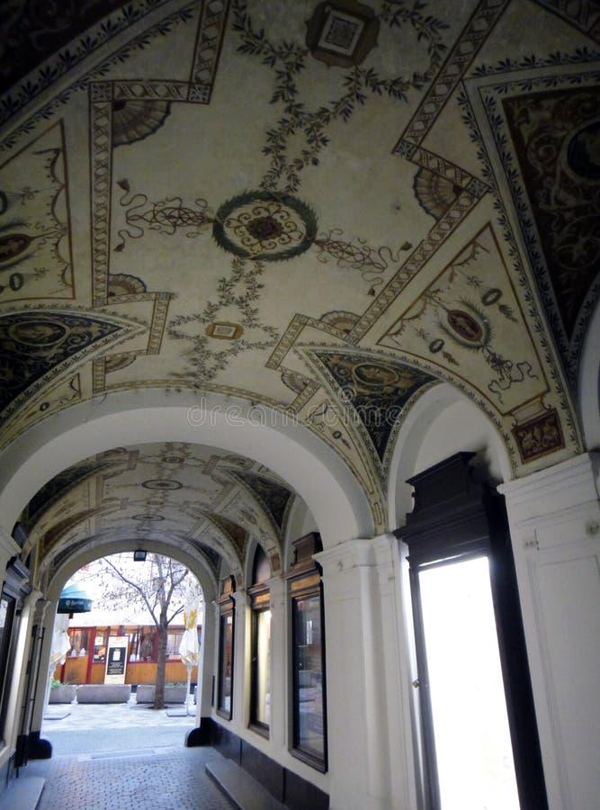 Architecture of Prague. stock photo
