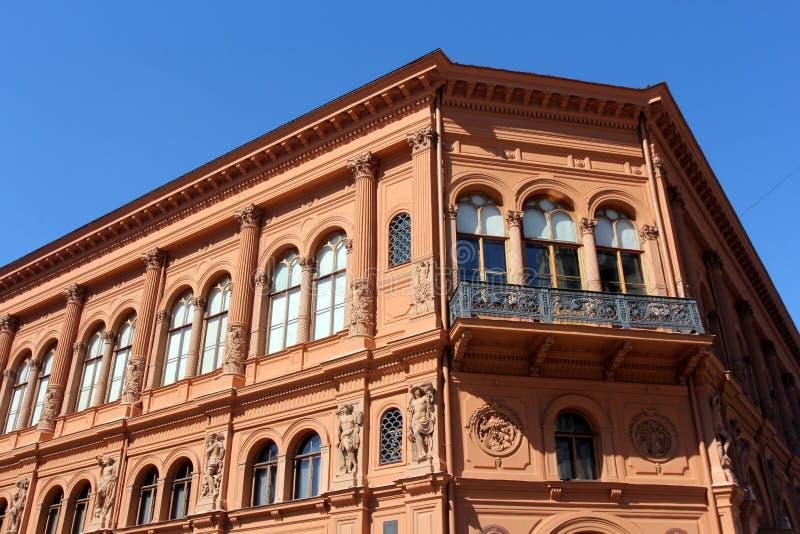 Architecture of Riga, Latvia stock image