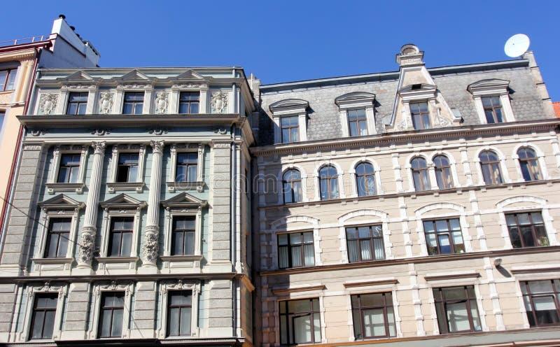 Architecture of Riga, Latvia stock photography