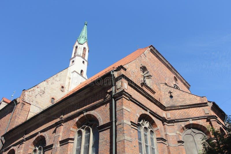 Architecture of Riga, Latvia royalty free stock images