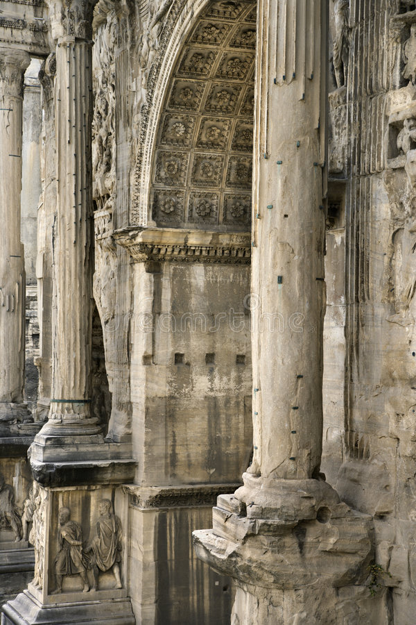 Download Architecture In Rome, Italy. Stock Image - Image of rome, column: 2041861