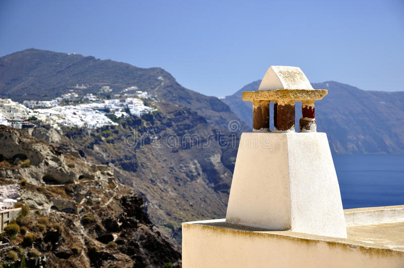 The Architecture Of Santorini Royalty Free Stock Photography