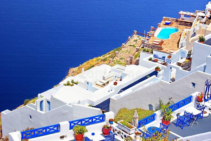 Download Architecture On Santorini Island Stock Photo - Image: 14334254