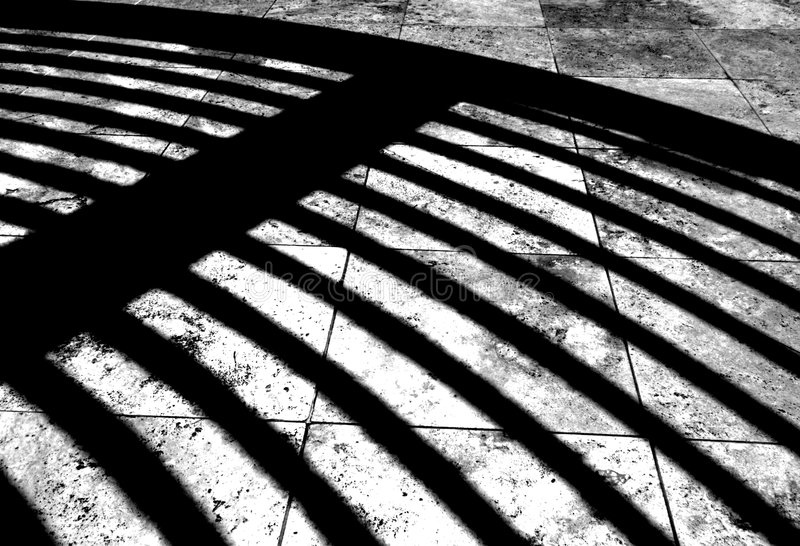 Architecture Shadow royalty free stock image