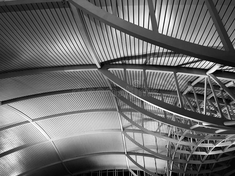 Architecture silencieuse image stock