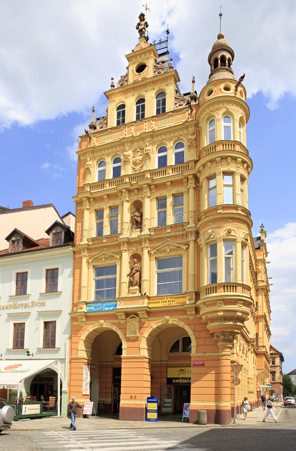 Architecture at the square in historic center of royalty free stock images