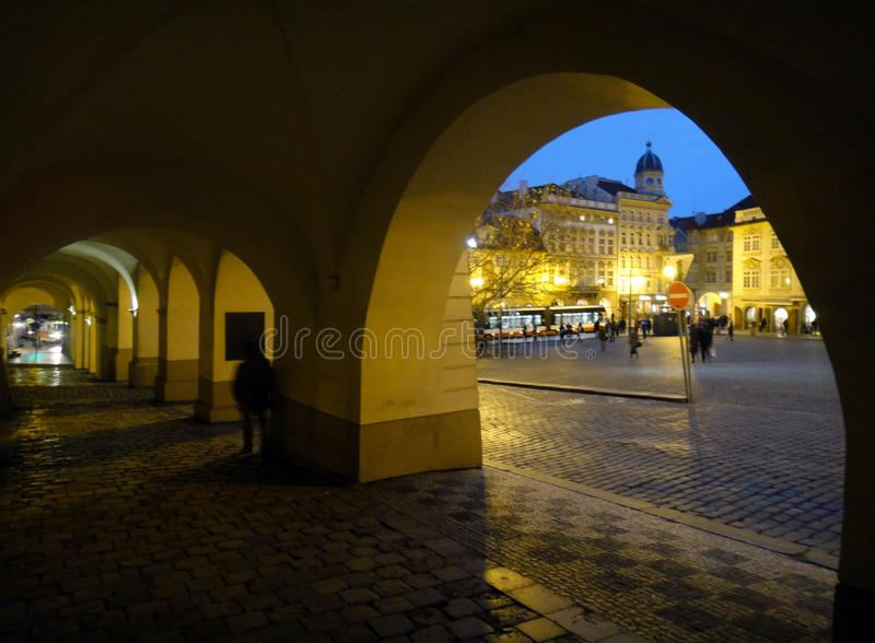 Architecture of Prague. royalty free stock images