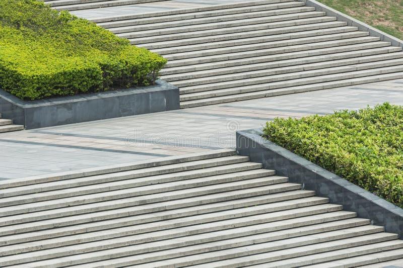 Stairway in park stock image