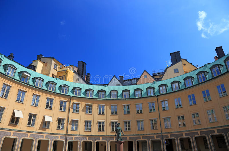 Architecture of Stockholm. royalty free stock photography