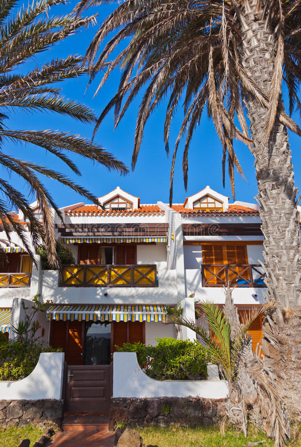Architecture At Tenerife Island - Canaries Stock Image