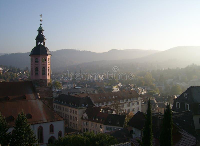Architecture urbaine de Baden Baden photos stock