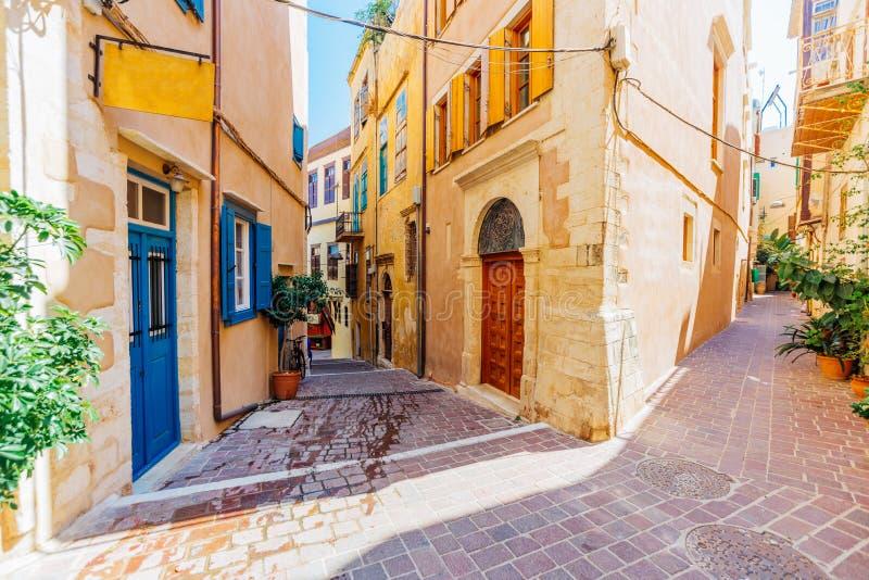 Architecture vénitienne de Chania, Crète image libre de droits