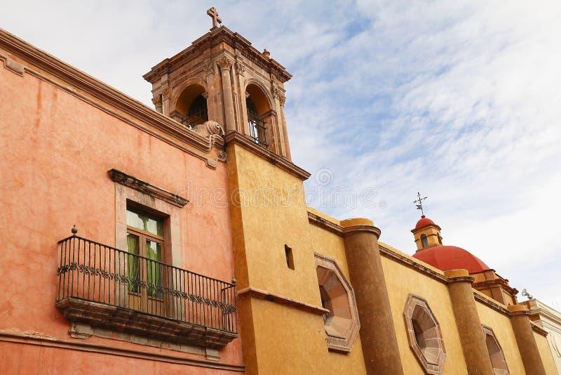 Architecture VI de Queretaro images libres de droits