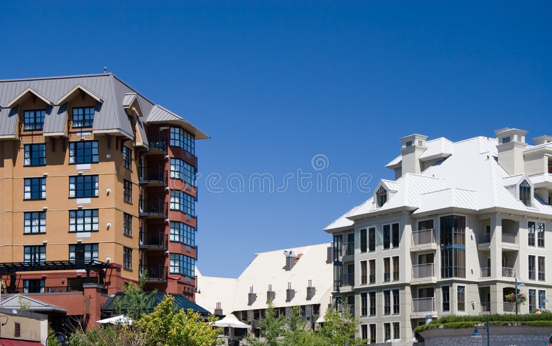 Download Architecture of Whistler stock image. Image of cityscape - 922655