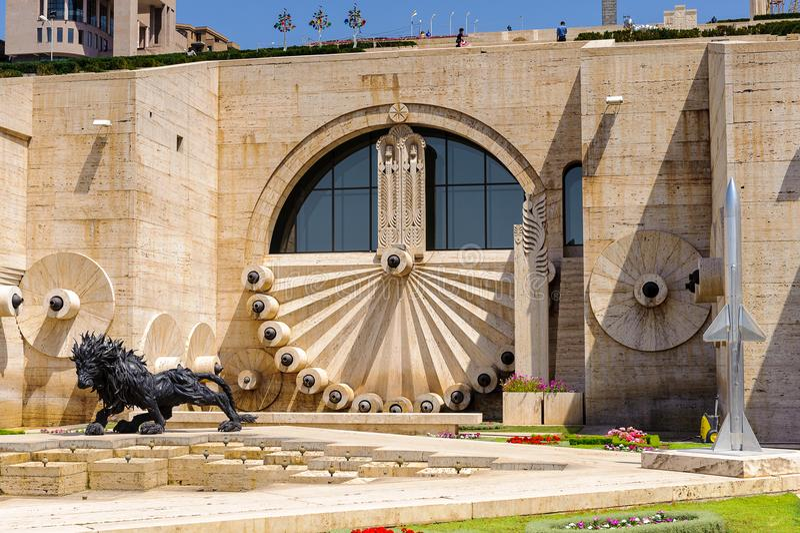 Architecture Of Yerevan, Armenia Editorial Photo - Image ...