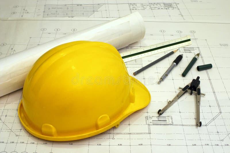 Download Architectuur & Techniek Stock Foto - Afbeelding bestaande uit hoed, ontwerp: 284778