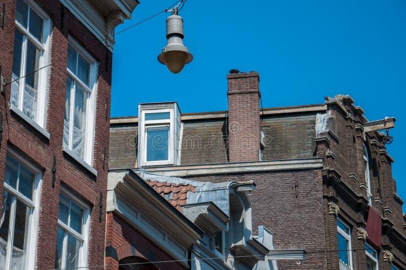Architectuur in Amsterdam royalty-vrije stock afbeeldingen