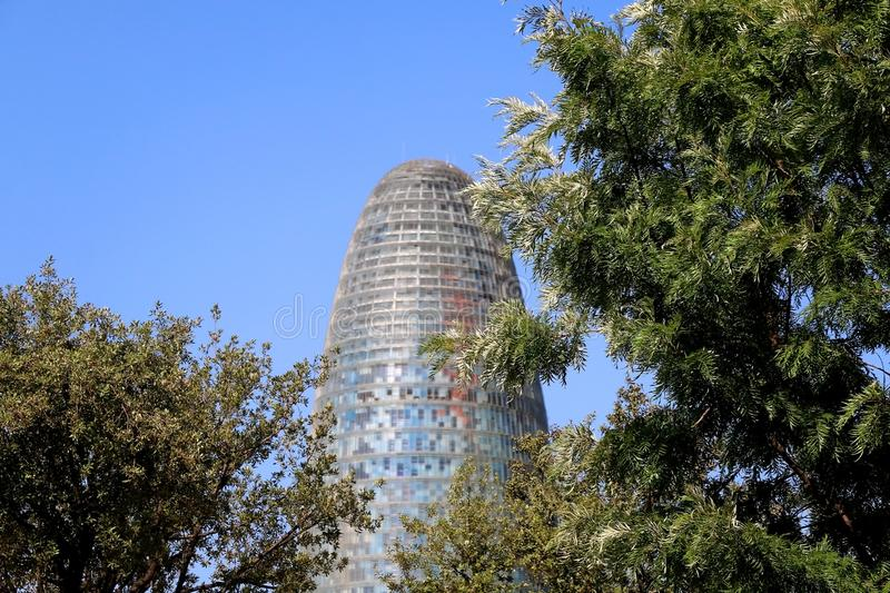 Architectuur in Barcelona, Spanje royalty-vrije stock foto