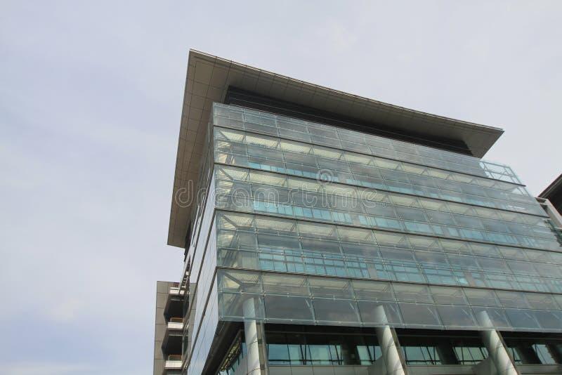 Architectuur bij de Wetenschap en het Technologieparken van HK royalty-vrije stock afbeelding