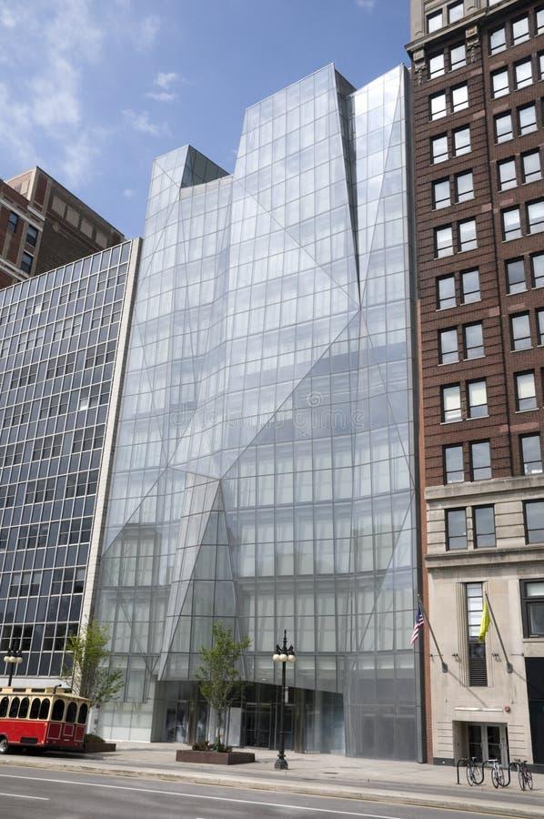 Architectuur in Chicago royalty-vrije stock afbeeldingen