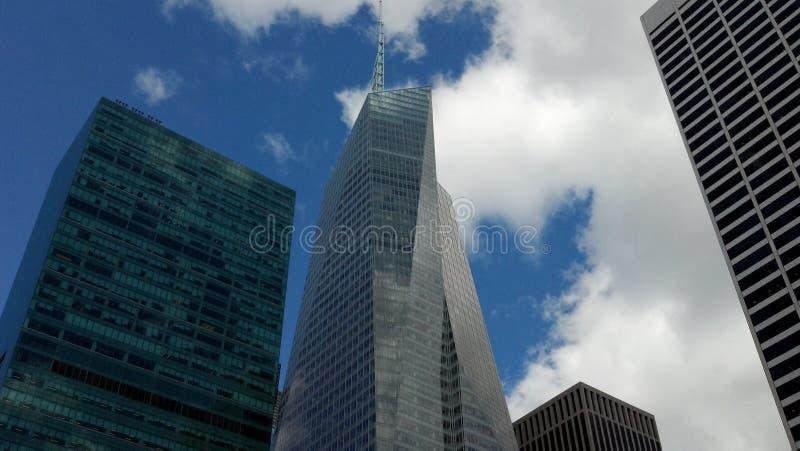 Architectuur, gebouwen, nyc, Manhattan royalty-vrije stock fotografie