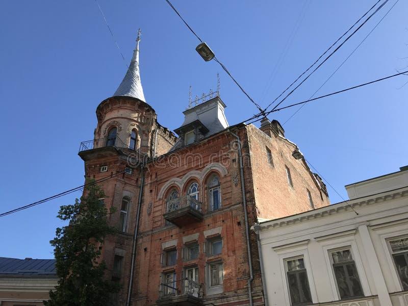 Architectuur in Kiev royalty-vrije stock afbeelding