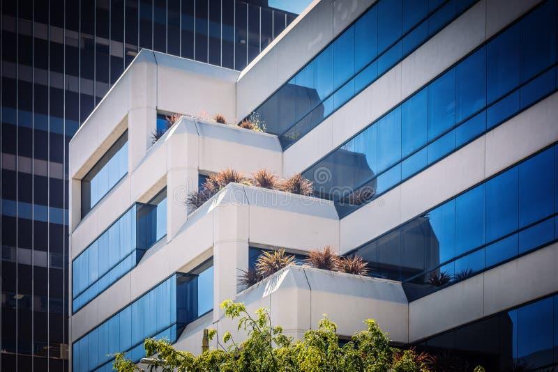 Architectuur in Los Angeles stock afbeeldingen