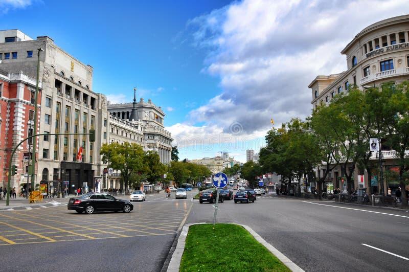 Architectuur in Madrid, Spanje royalty-vrije stock fotografie