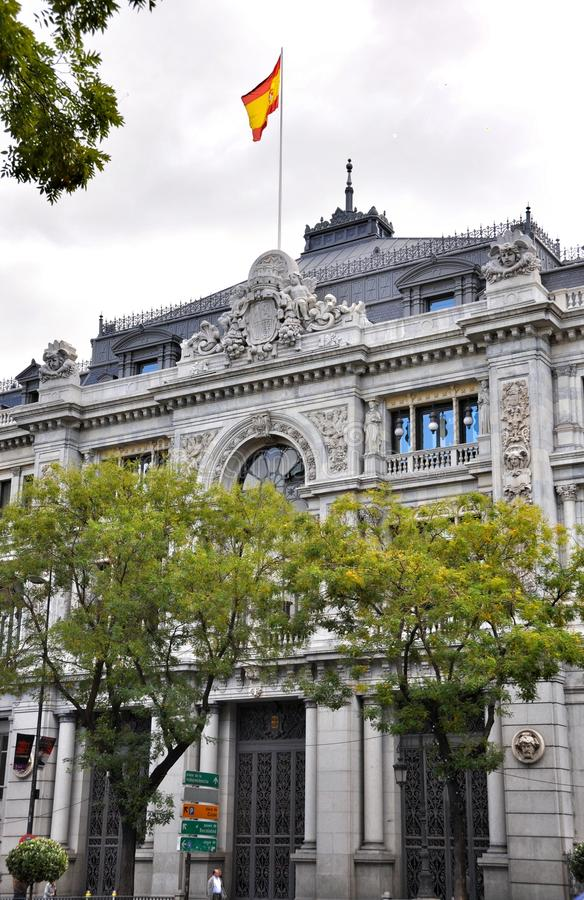 Architectuur in Madrid, Spanje royalty-vrije stock afbeelding