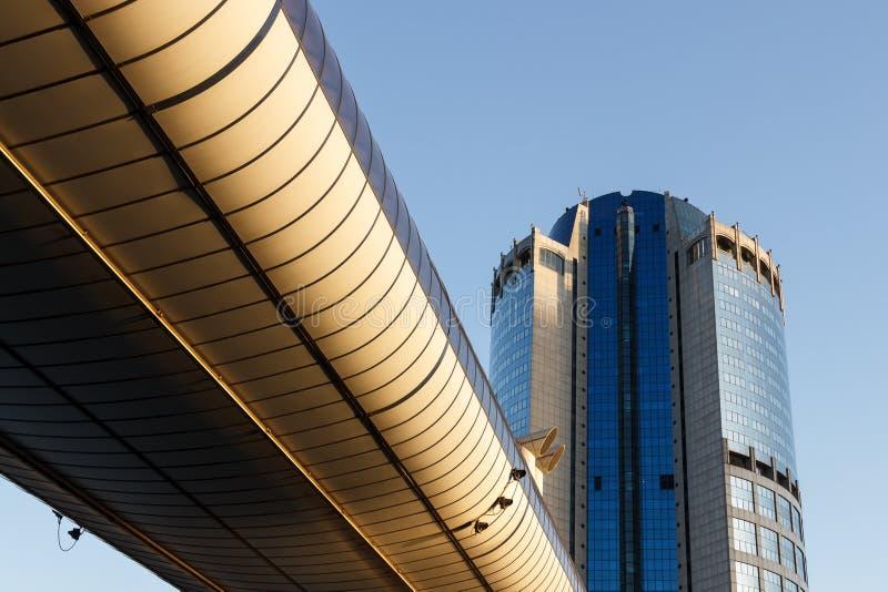 Architectuur, moderne gebouwen royalty-vrije stock afbeelding