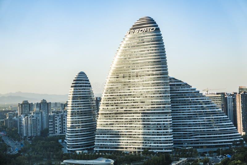 Architectuur in Peking stock afbeelding