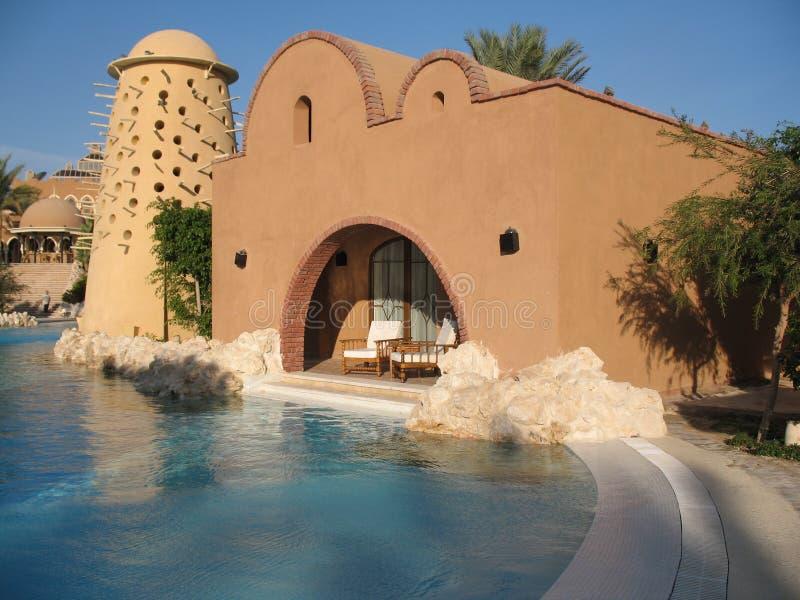Architectuur, pool stock foto