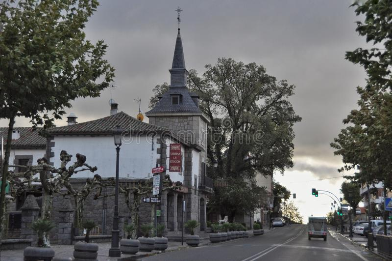 Architectuur in San Rafaël van Spanje royalty-vrije stock foto's