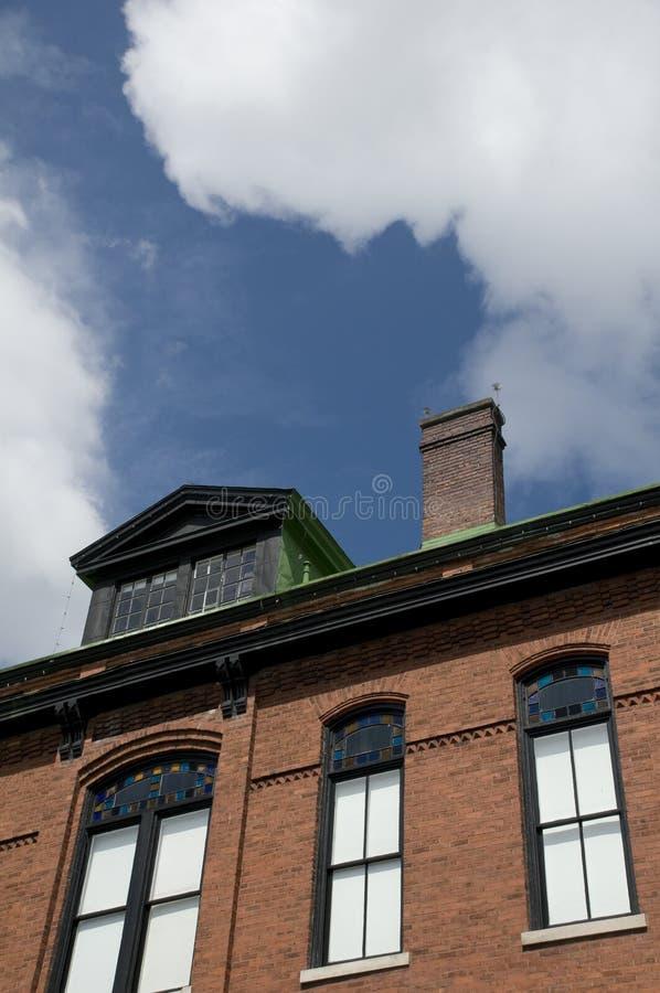 Architectuur in Savanne royalty-vrije stock fotografie