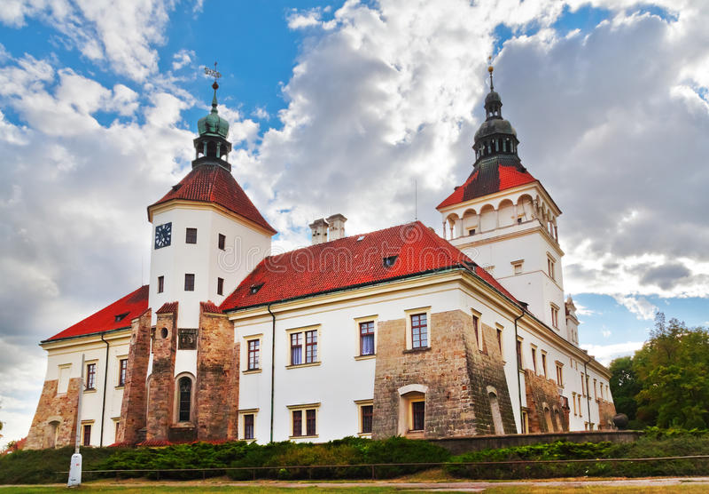 Architectuur in Smecno - Tsjechische republiek royalty-vrije stock fotografie