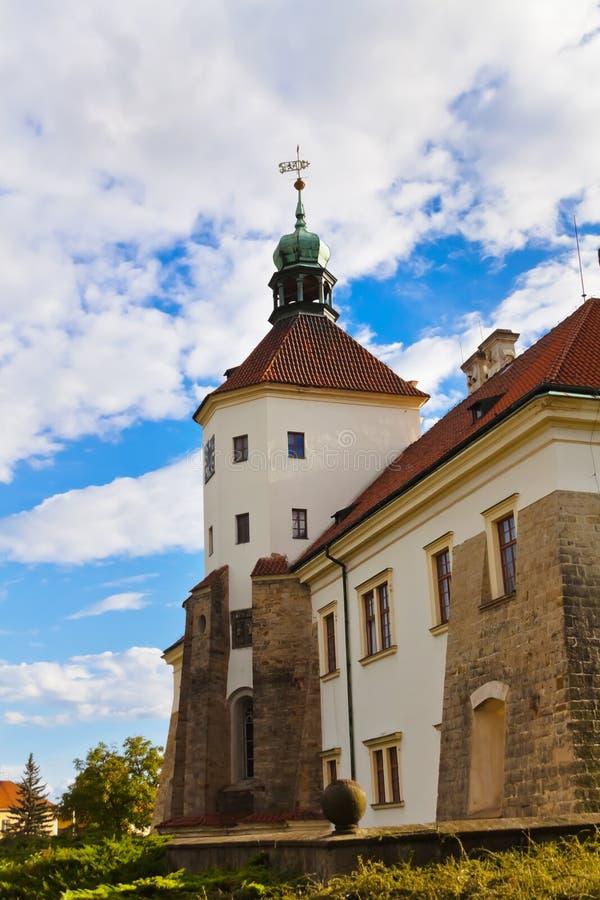 Architectuur in Smecno - Tsjechische republiek royalty-vrije stock afbeelding