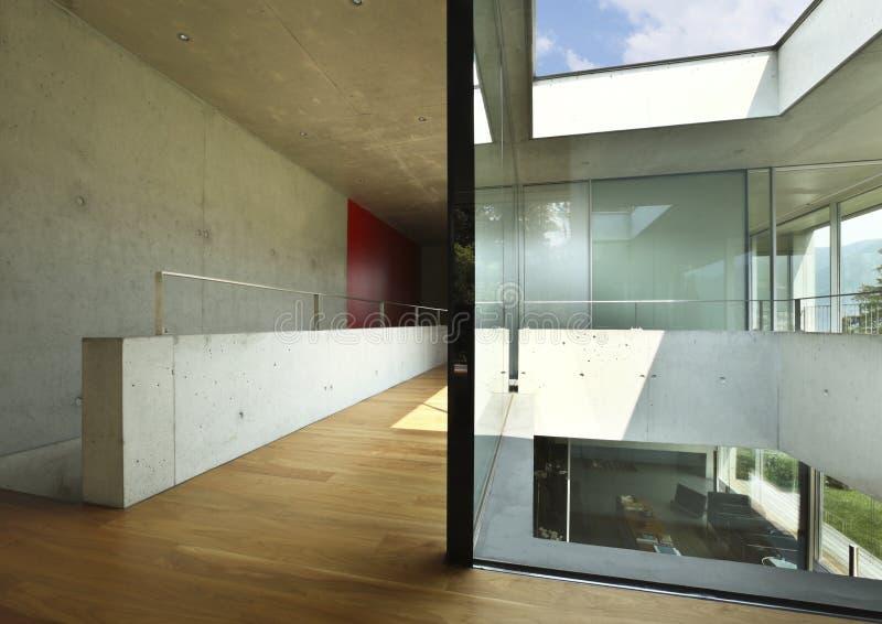 Architectuur van Attilio Panzeri, Modern huis stock afbeelding