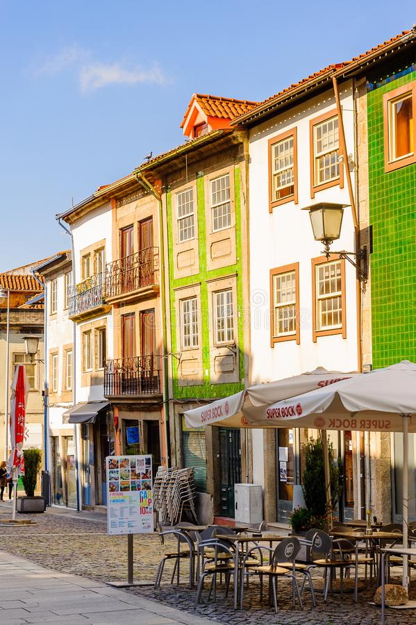 Architectuur van Braga, Portugal royalty-vrije stock fotografie