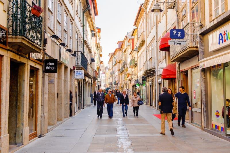 Architectuur van Braga, Portugal royalty-vrije stock afbeeldingen