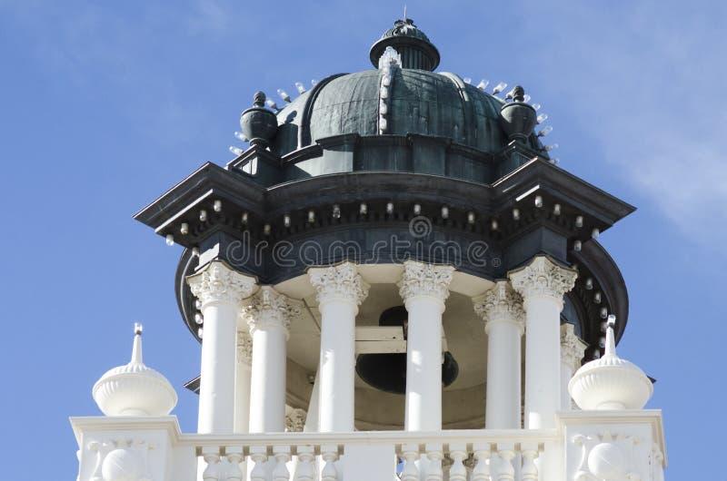 Architectuur van de Koepel van het de Pioniersmuseum van Colorado Springs op dak royalty-vrije stock fotografie