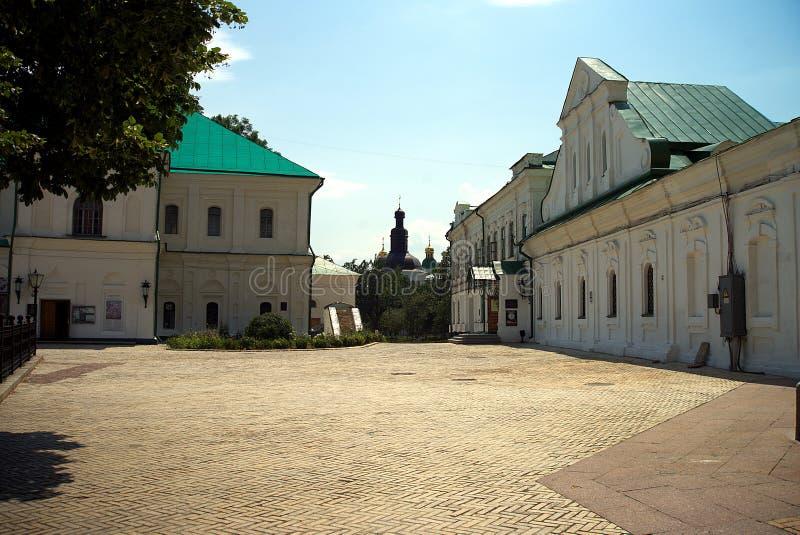 Architectuur van de Oekraïne De stad van Kyiv royalty-vrije stock afbeeldingen